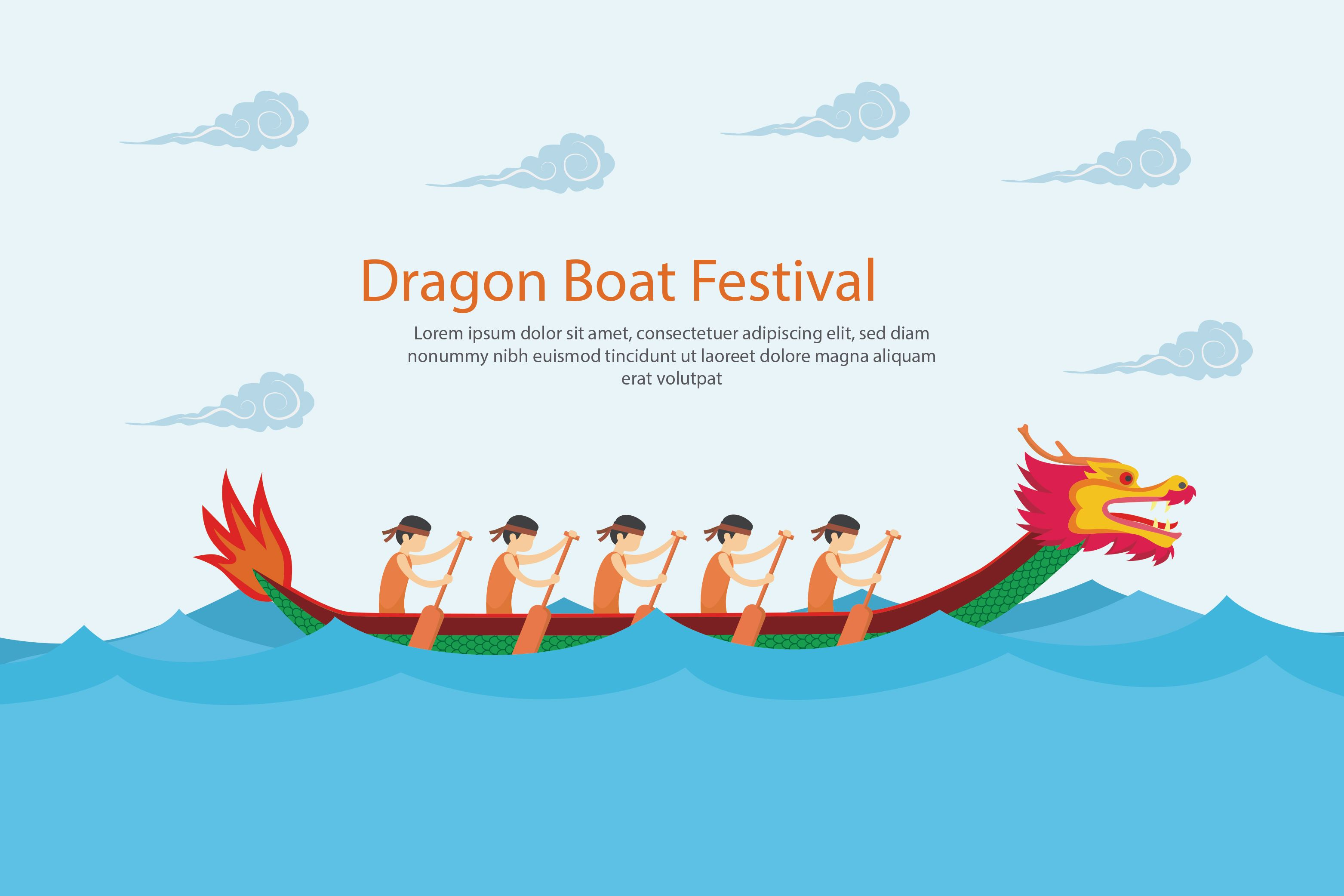 Dragon Boat Festival Holiday N